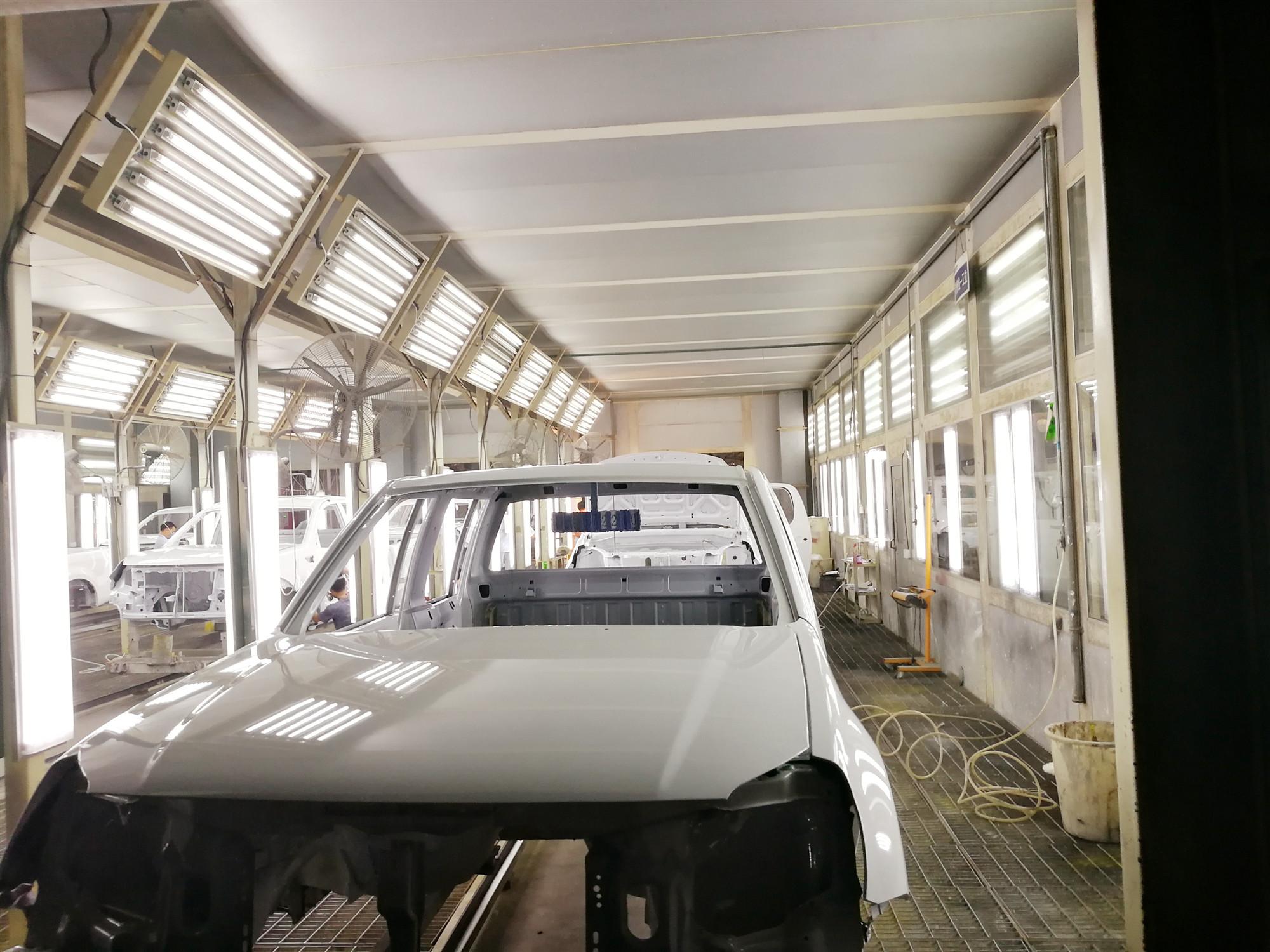 辽宁汽车涂装生产线